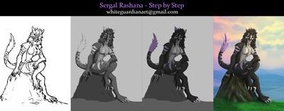 Sergal Rashana Step by Step