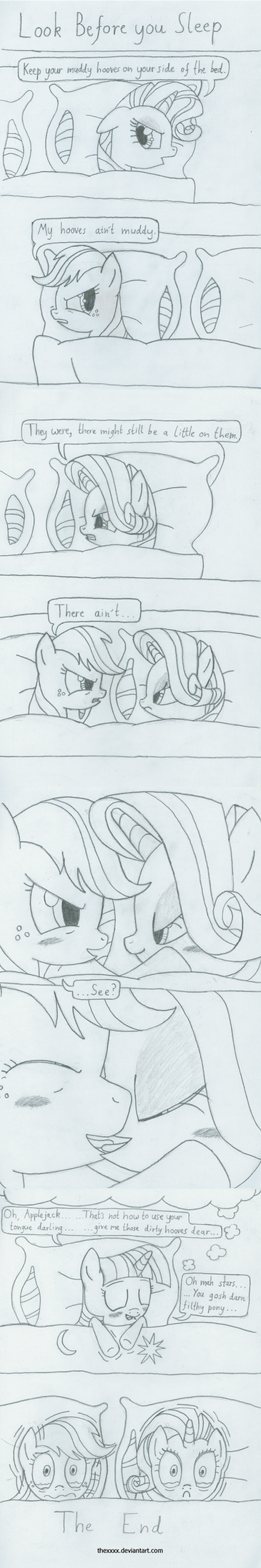 Look Before you Sleep - Sketch by TheXxxX