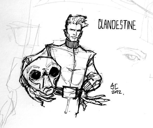 Clandestine Sketch by Sebastian-Chow