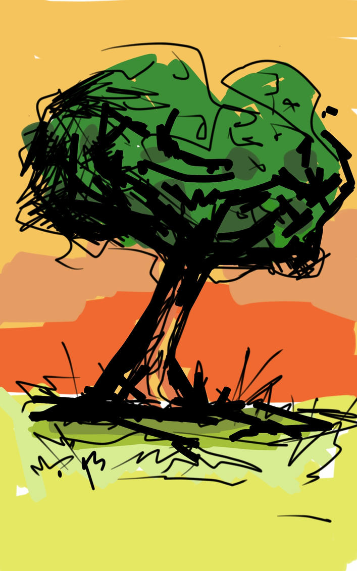 Tree challenge by Sebastian-Chow