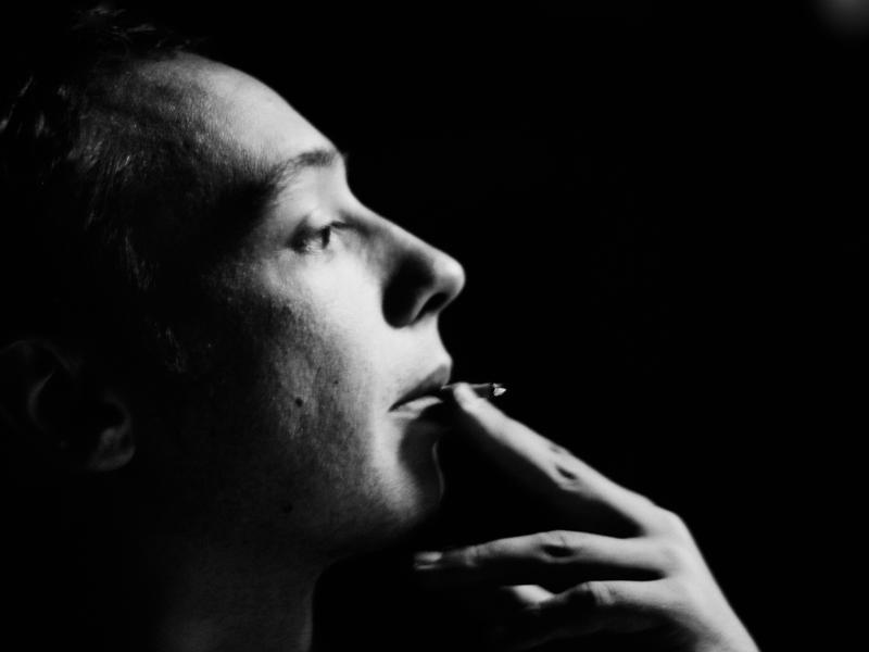 French profile with a cigarette by BobRock99