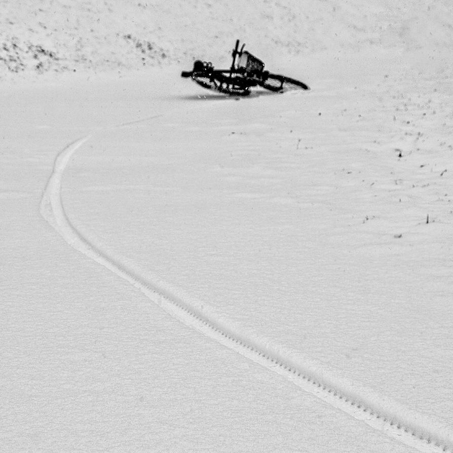 Long White Line by BobRock99