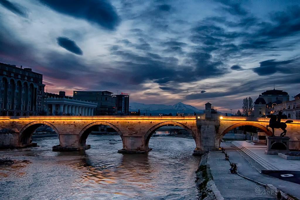 sky above Skopje by BobRock99