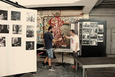 exhibition in progress