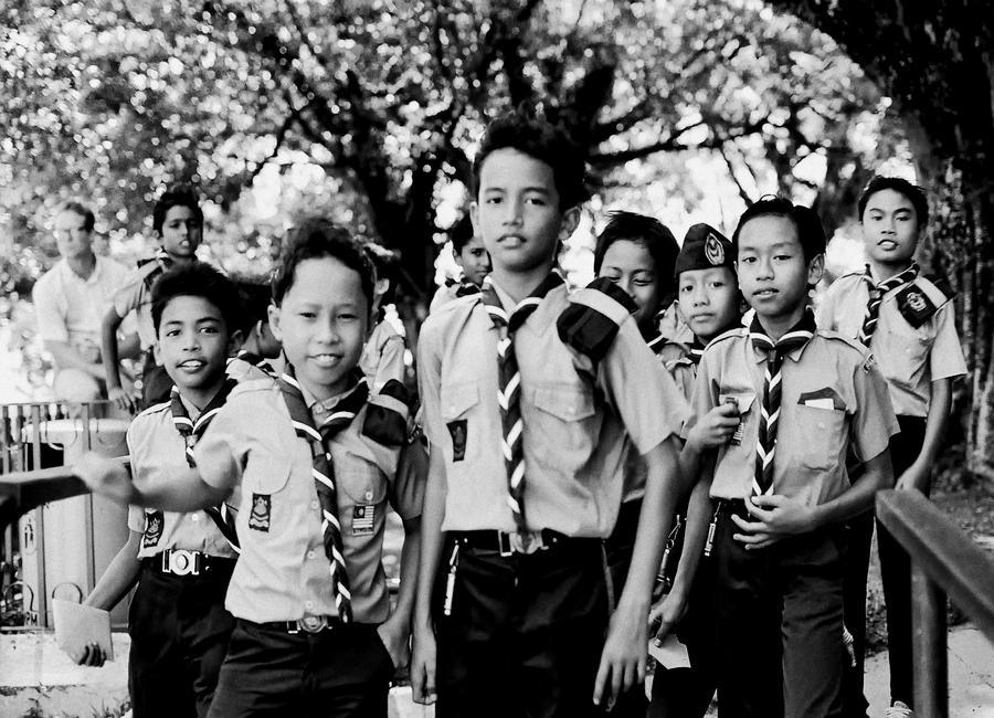 Malesian kids by BobRock99