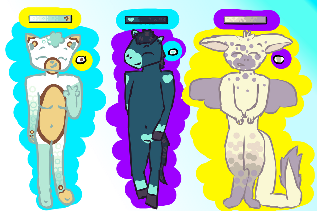 Adopts (3/3 Open!) by PupperDogGirl