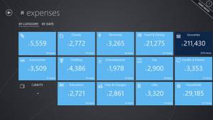 Expenses app concept (part 4)
