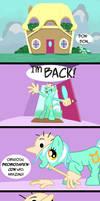 Lyra is a Pony