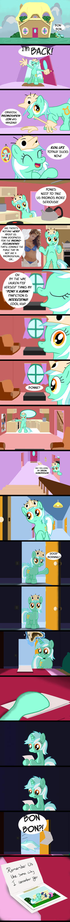 Lyra is a Pony by akeel465