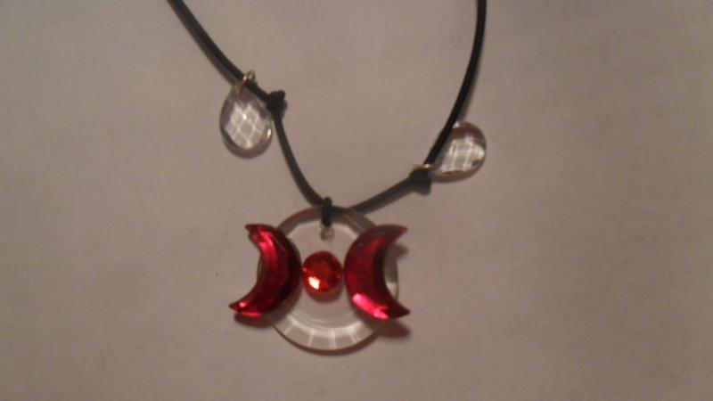 Dark Daughter pendant shot 3 by CassandraArtemis