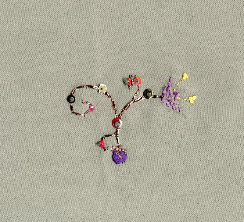 Textile sample 8 by CassandraArtemis