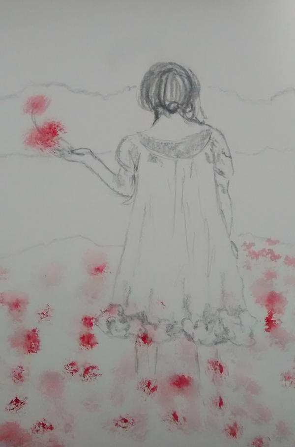 Poppies for Grandma by CassandraArtemis