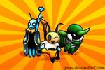 Bug Fables - Team Snakemouth