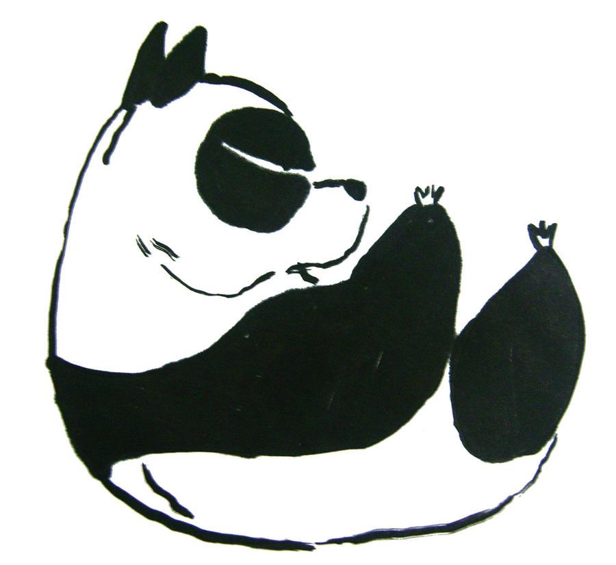 Genma Saotome Panda By AbsoL G