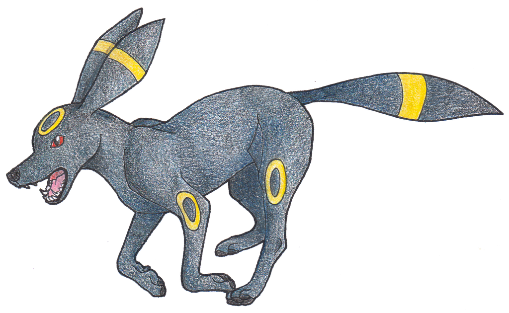 #197 Umbreon by AbsoL-G