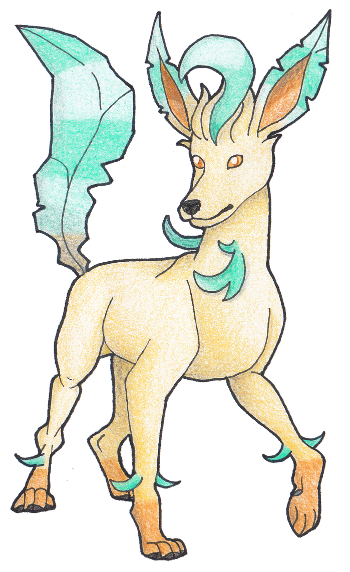 #470 Leafeon by AbsoL-G