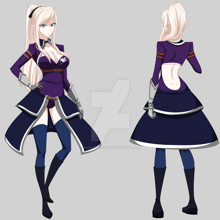Fairy tail oc aira grand magic games outfit by animerper1998