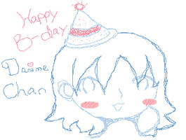Happy Birthday Danime Chan