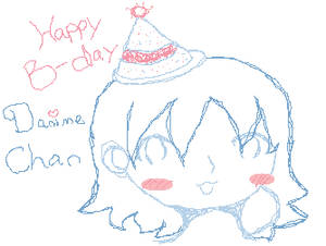Happy Birthday Danime Chan