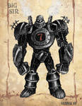 Big Sir - Steampunk Robot