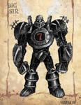 Big Sir - Steampunk Robot