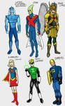 DC2 Earth 2 - Sketches 2 by herrenmedia