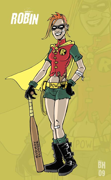 Robin - Carrie Kelley by herrenmedia