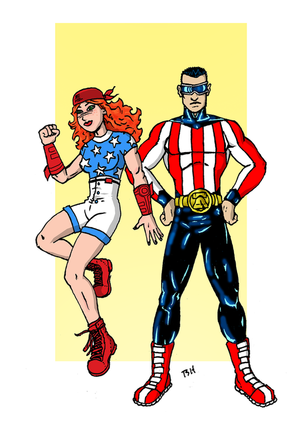 Stars and Stripes by herrenmedia