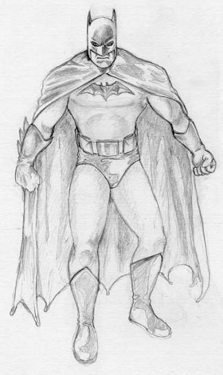 Batman - Pencils by herrenmedia on DeviantArt