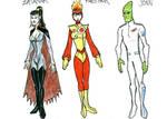 DC2 Earth 2 - JLA family by herrenmedia