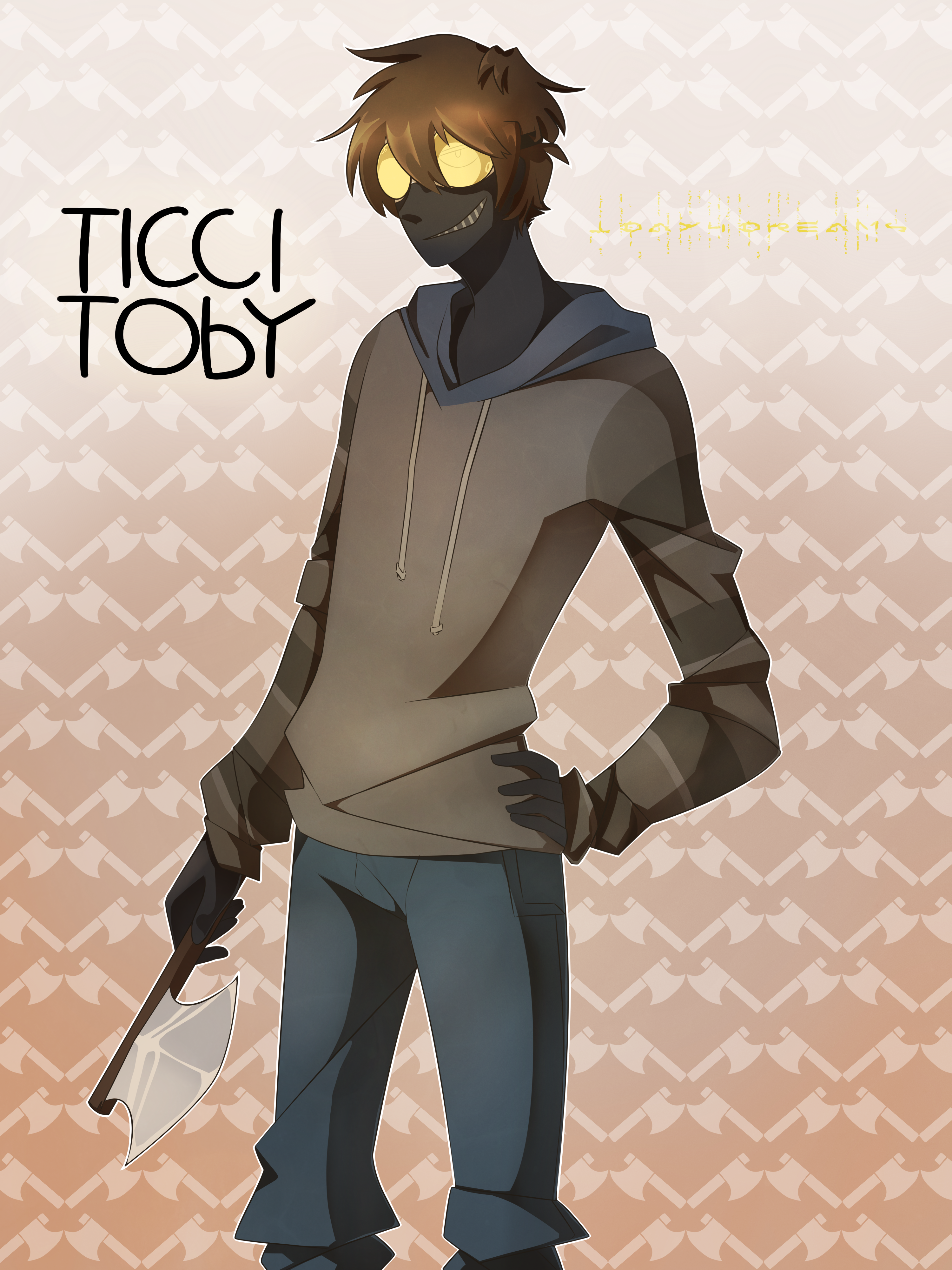 Ticci Toby By 1day4dreams On Deviantart