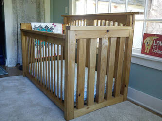 Red Alder Crib