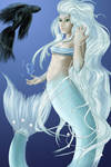 Beta-Mermaid colored by Frozen-song