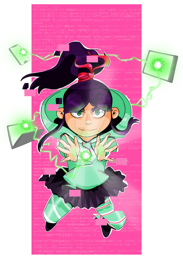 Vanellope - My Princess Academia by CafeRecits