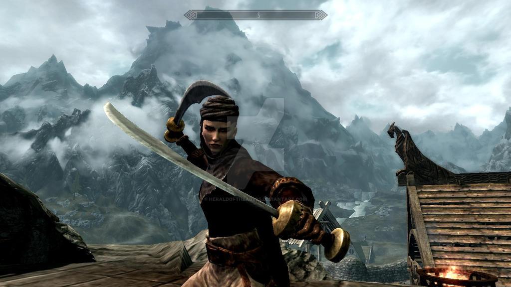 Vanessa Seven-Swords by HeraldoftheAbyss