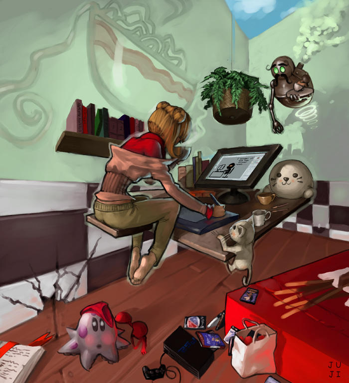 The Workstation by Jujika