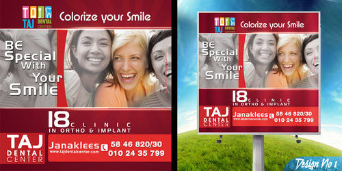 Taj Dental CenterLightbox No:1 by BlueAngelDesigns