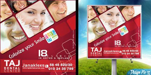 Taj Dental Center Lightbox No3 by BlueAngelDesigns