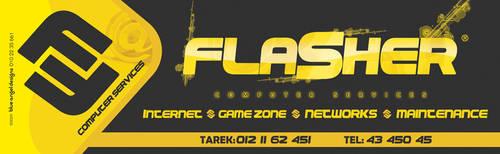 Flasher PC Services, Lightbox by BlueAngelDesigns