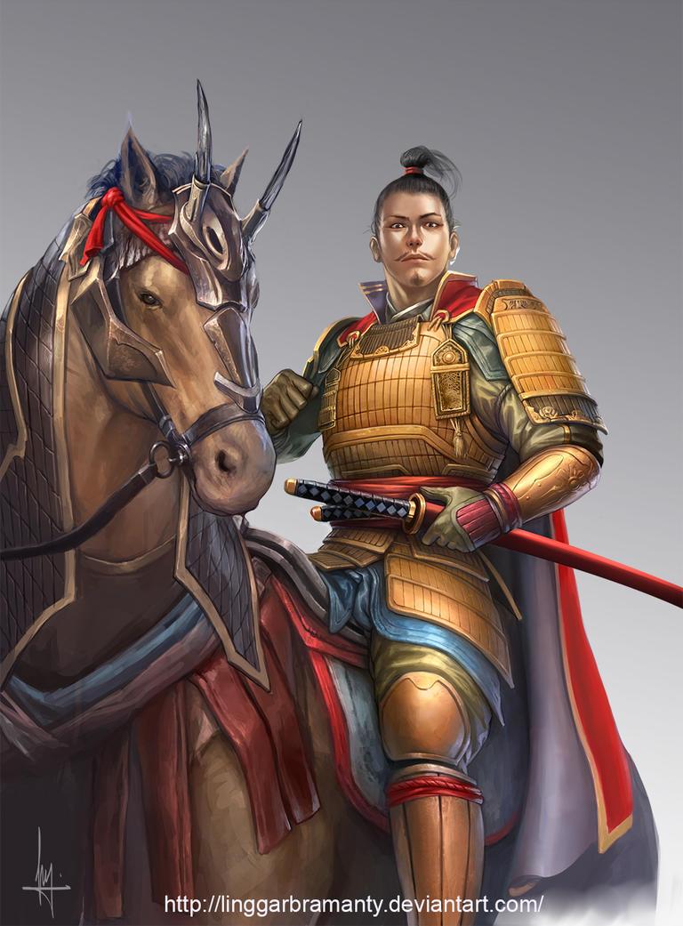 Oda Nobunaga by linggarbramanty