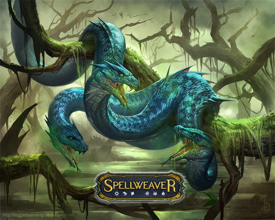 Snake Aurite by linggarbramanty