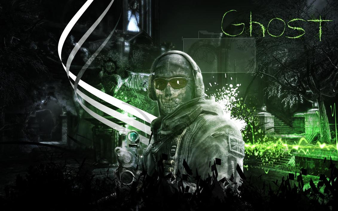 Ghost - MW2 by xRafaeL...