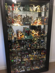 Upgraded Boba Fett Collection Display