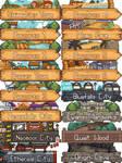 Pokemon Giratina's Legend  - Area Icons