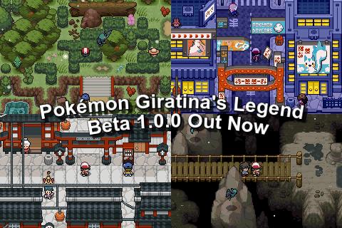 Pokemon Giratina's Legend - [DOWNLOAD Beta 1.0.0]
