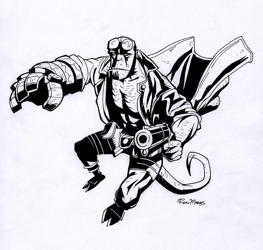 Hellboy by RonMaras on DeviantArt