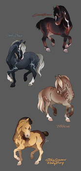 Some Horse Adopts ( CLOSED )
