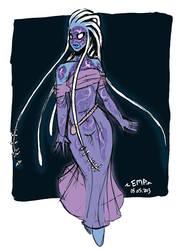 Deep Sea Sorceress by EMP-83