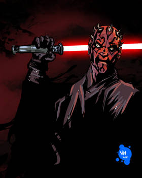 Darth Maul by willsasuke