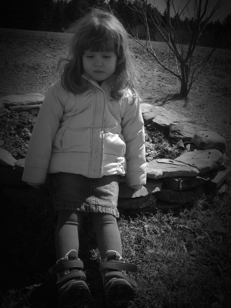 Sad little girl by Halvar on DeviantArt